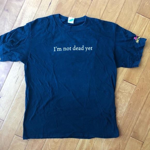 Shirts Im Not Dead Yet Monty Python Spamalot Tshirt L Poshmark